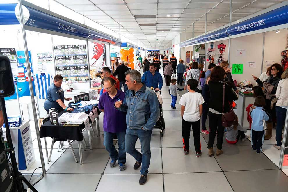 Resultado de imagen de La I Feria del Comercio de Leganés