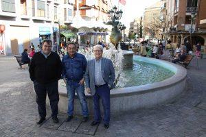 Pérez Ráez, Enrique Abanades y Jesús Polo