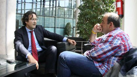 Entrevista de LEGANEWS a Jesús Gómez en la Asamblea de Madrid