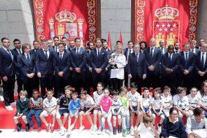 Foto de familia del Real Madrid