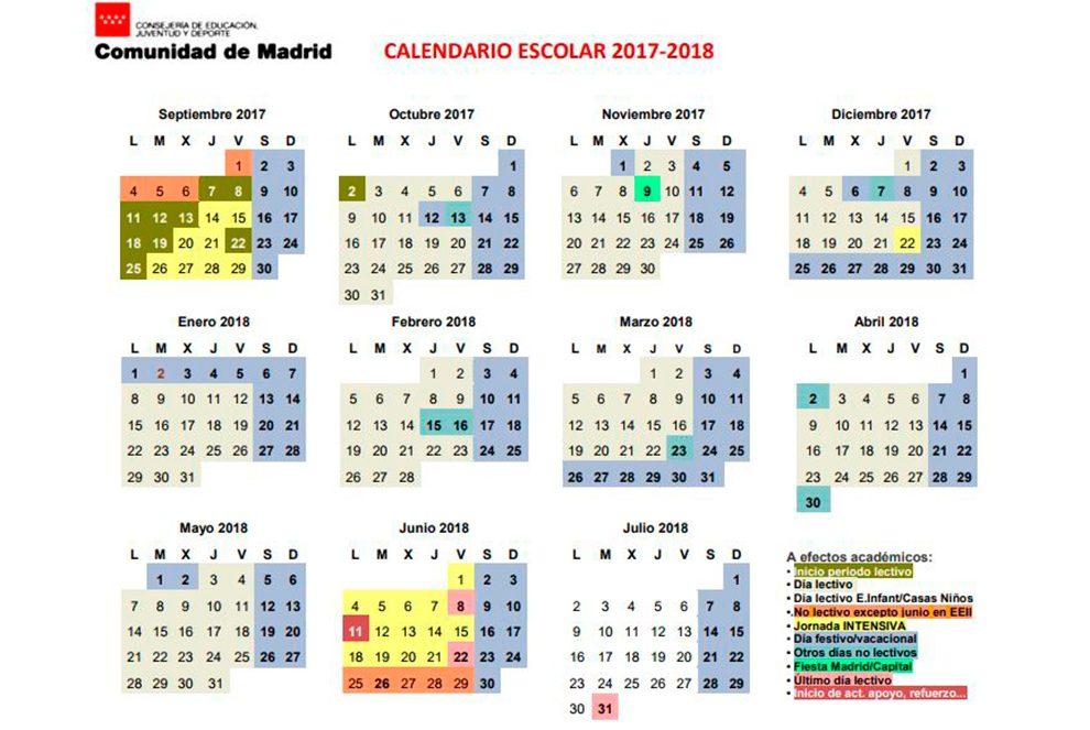 Calendario Escolar Madrid.El Mes De Septiembre Trae A Leganes El Arranque Del Curso Escolar