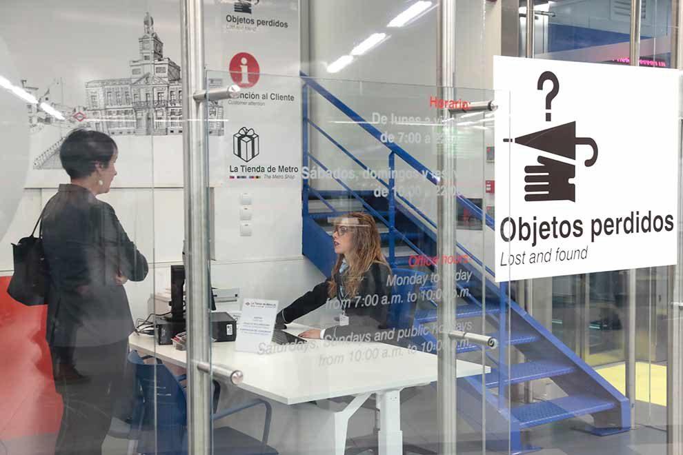 Nuevo centro de gesti n de objetos perdidos en el metro - Oficina de objetos perdidos ...