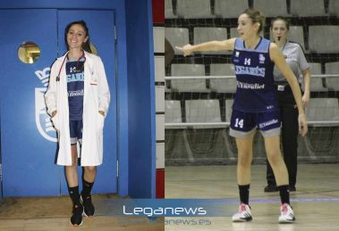 Marta Pérez, jugadora del Baloncesto Leganés, y estudiante de sexto de Medicina.