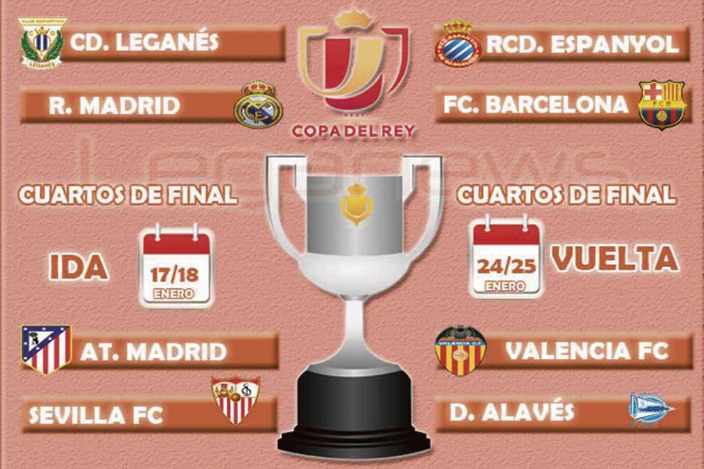 El Real Madrid visitará Butarque la semana que viene en los cuartos ...