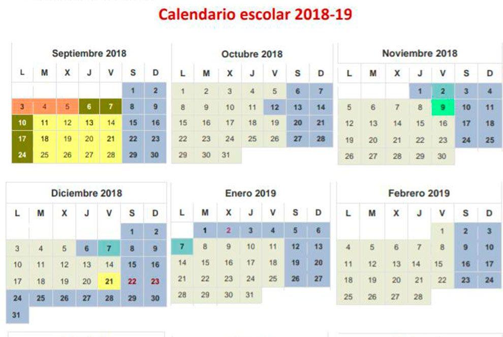 Calendario Escolar 2019 Madrid.Fumata Blanca Al Calendario Escolar 18 19 Tras Meses De Negociaciones