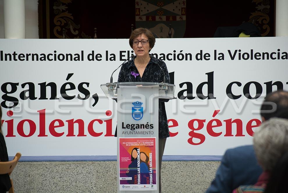 Resultado de imagen de Día Internacional de la Eliminación de la Violencia contra la Mujer en leganes