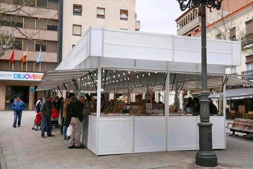 El Ayuntamiento de Leganés prepara la XXVIII Feria del Libro Antiguo